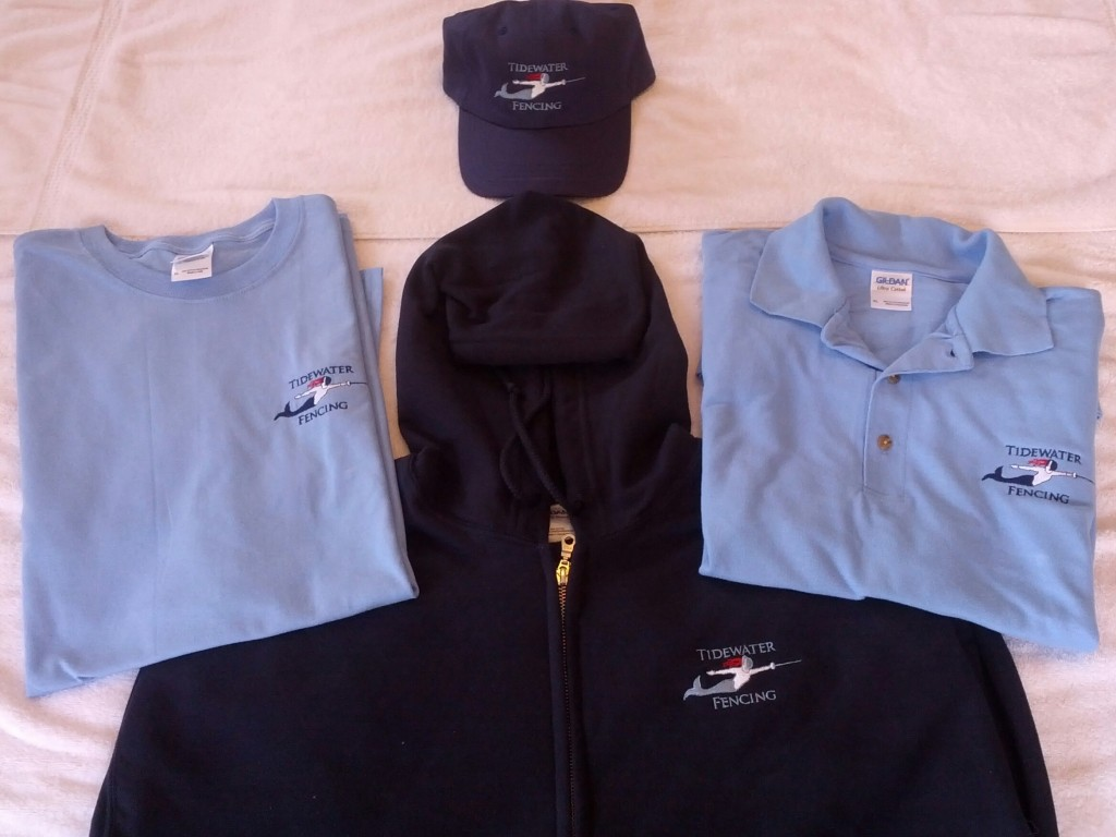 Tidewater Fencing Club Products: Clothing