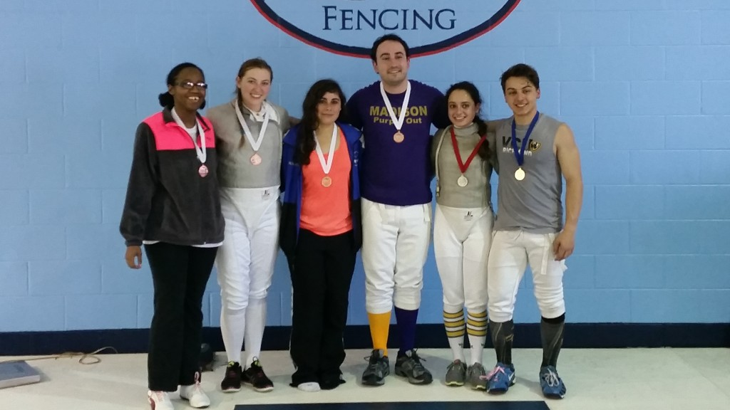 Tidewater Open 2016 Sabre Finalists