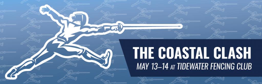 The Coastal Clash May 13-14 2017 at Tidewater Fencing Club